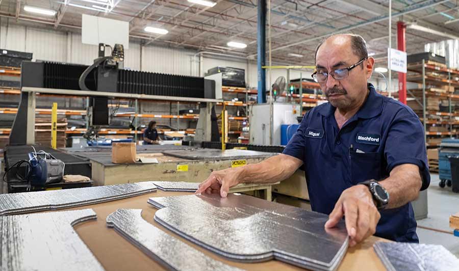 blachford acoustics custom manufacturing solutions