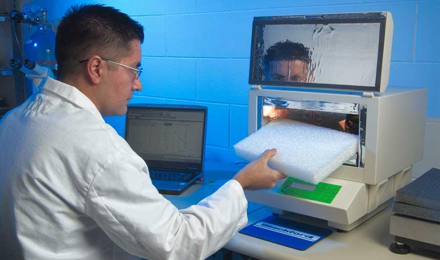 blachford acoustics lab testing room